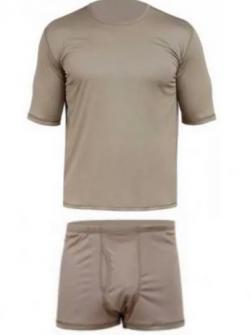 Белье нательное влагоотводящее короткое (футболка и трусы) ВКБО/ВКПО