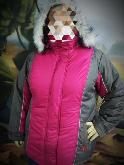 Куртка зимняя женская СИРИУС розовая