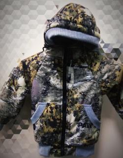 Куртка ТАЙГАН детская на флисе (зима)