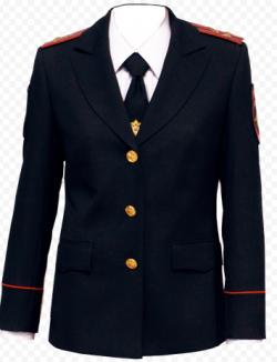 Китель женский п/ш темно-синий Полиция