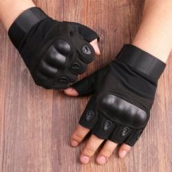 Защитные тактические беспалые перчатки Oakley