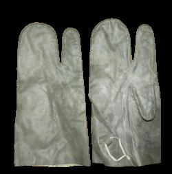 Перчатки защитные трёхпалые