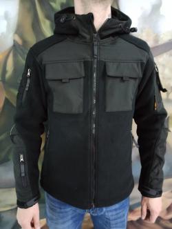 Кофта-куртка Тактическая SoftShell / флис (деми)