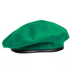 Бесшовный зеленый берет