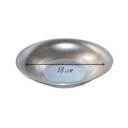 Миска алюминиевая глубокая