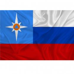 Флаг МЧС России (Представительский)