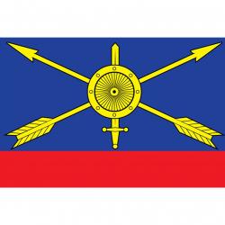 Флаг Ракетных войск стратегического назначения РФ