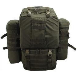 Рюкзак рейдовый армии Казахстан 60 л + 20л  (олива)