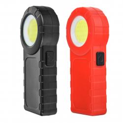 Яркий фонарик MingRay W0537 Red and Black